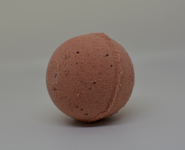 rose gold bath bomb