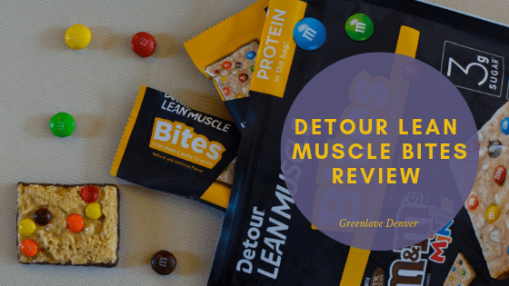 Detour Lean Muscle Protein Bites Review