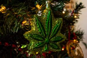 Christmas Decorations for Cannabis Lovers