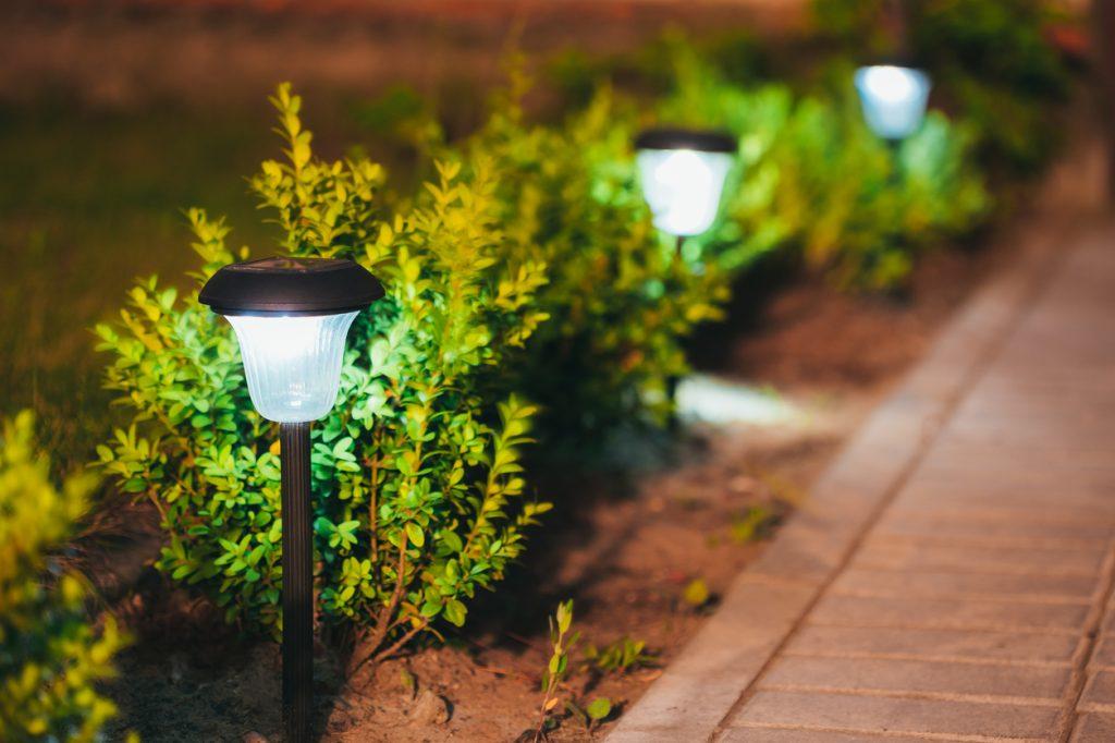 outdoor lighting design installation