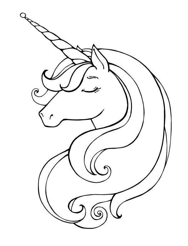 Animais para colorir, coloring pages, colorir, desenhos para imprimir e pintar, imprimir, unicorn, unicórnio. Unicórnio: imagens para colorir e se inspirar - GreenMe