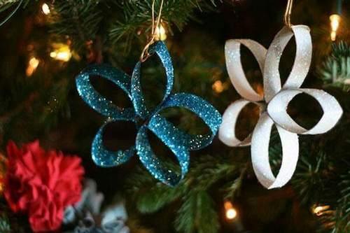 Decorazioni Di Natale Dai Rotoli Della Carta Igienica 10