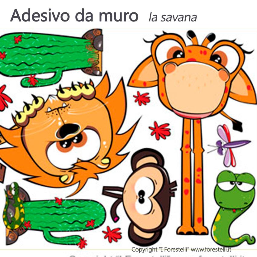 Scopri gli adesivi murali a tema animali e acquistali subito online su leostickers®! Adesivi Murali Stickers Colorati Per La Camera Dei Tuoi Bambini Greenme