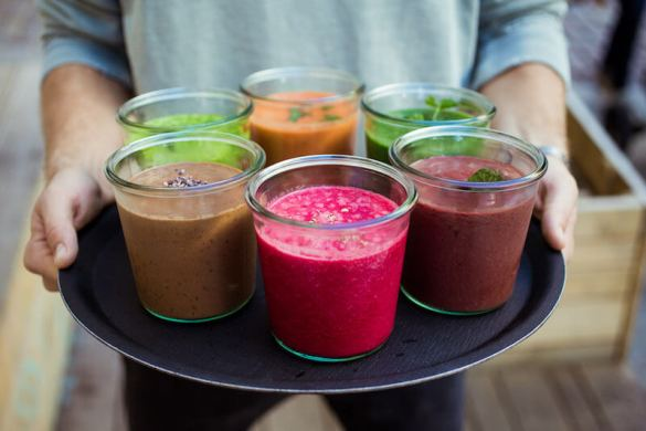 Food - Daluma Colorful Smoothies
