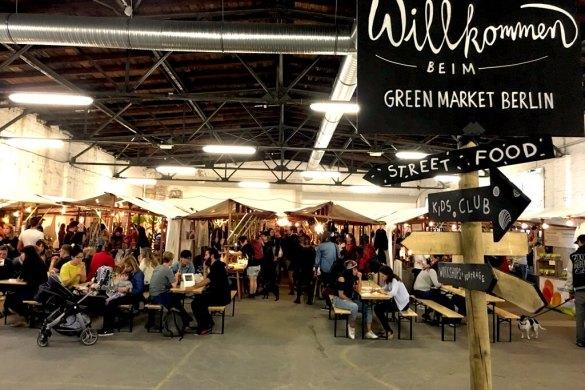 The Green Market Berlin - Location and Stalls