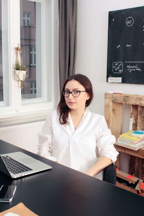Original Unverpackt - founder Milena Glimbovski at work