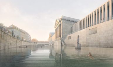 Flussbad Berlin, Perspective at James-SImon-Galerie | GreenMe Berlin Podcast