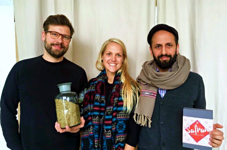 Conflictfood - Founders Gernot and Salem with Claudi | GreenMe Berlin Podcast