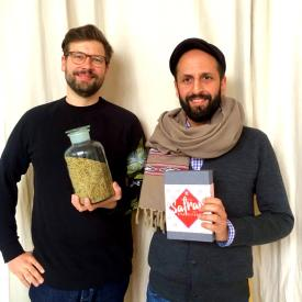 Conflictfood - Founders Gernot and Salem  | GreenMe Berlin Podcast