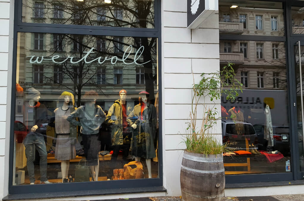 Ethical Fashion Berlin - Wertvoll, Prenzlauer Berg | GreenMe Berlin