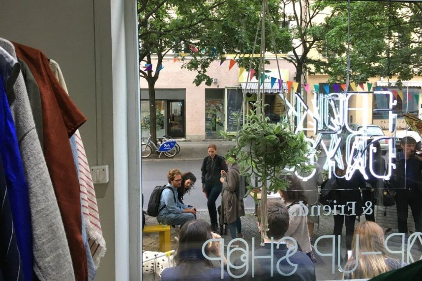 FOLKDAYS store Berlin, pop up | GreenMe Berlin Podcast