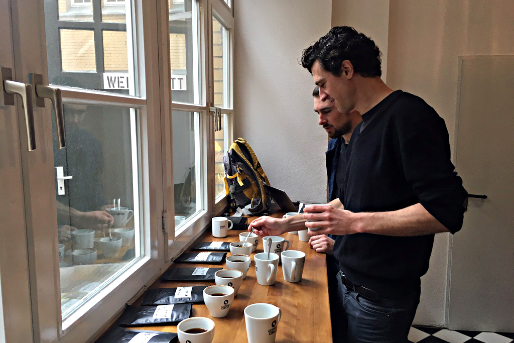 Coffee Circle, Coffee Cupping 4 | GreenMe Berlin podcast