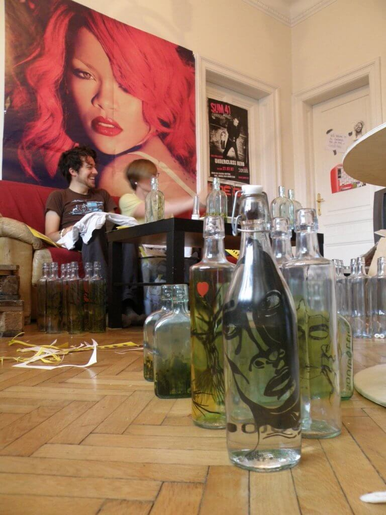 soulbottles Berlin - beginnings in Paul's flat in Vienna | GreenMe Berlin Podcast