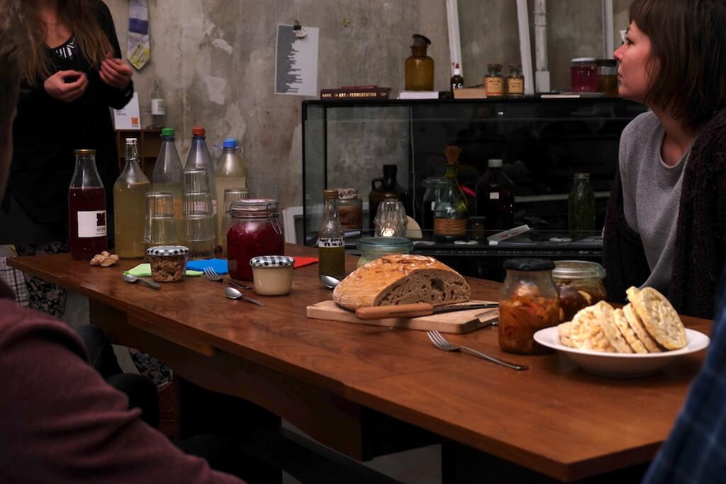 Edible Alchemy, fermentation workshop, snack table | GreenMe Berlin Podcast Ep15