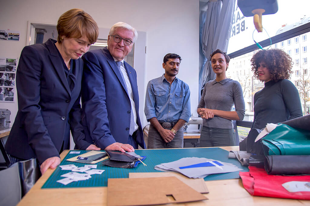 Visit of the German Bundespräsident at Mimycri | GreenMe Berlin Podcast