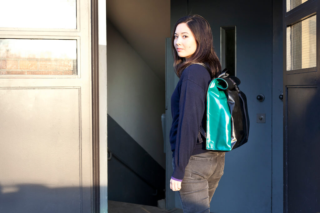 Mimycri backpack in action | GreenMe Berlin Podcast