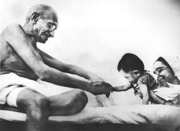 Gandhi's Anti-Violence Philosophy Extended To Vaccine Dangers
