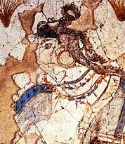 thera saff minoan goddess