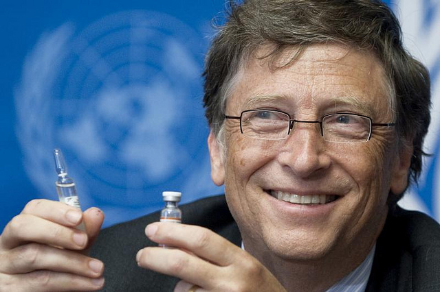 Gates Foundation Funds Anti-Vaccine Surveillance Research