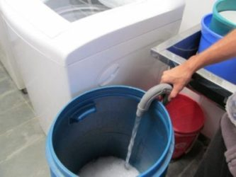 Portable Grey-Water Recycling System for  Apartments