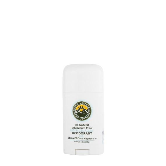 Green Mountain Hemp Company Deodorant
