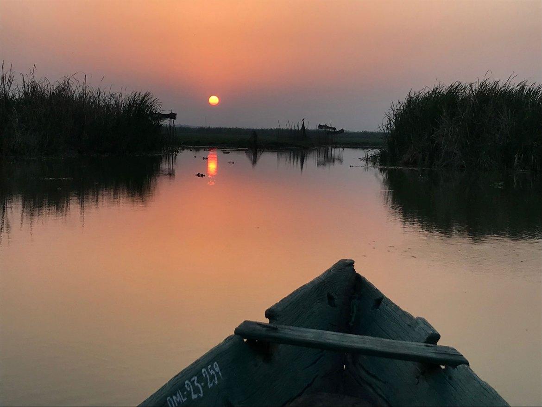 Calm and beautiful Mangalajodi