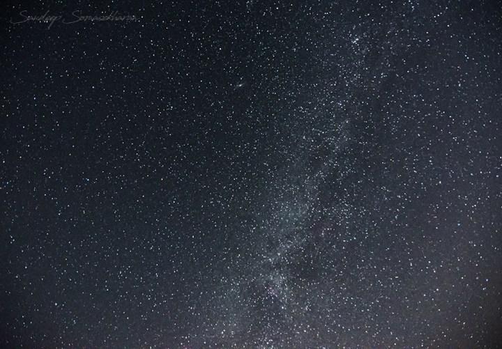 Night Sky Milky Way Darkness