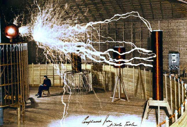 Nikola Tesla Listrik