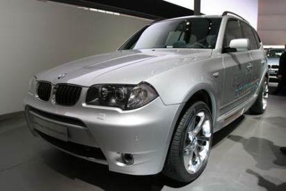 BMW Concept X3 Hybrid EfficientDynamics