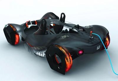 Compressed Air Car >> Honda Air The Compressed Air Sportscar At La Auto Show S
