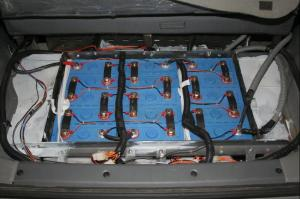 A typical EV battery pack