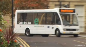 Electric Bus in UK