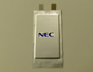 NEC's Higher Density Battery