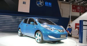 Venucia e-Concept at the 2012 Beijing Auto Show