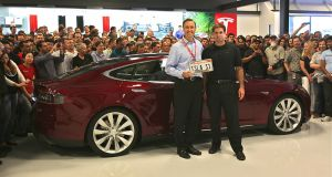 First Tesla Model S Delivered - June 2012