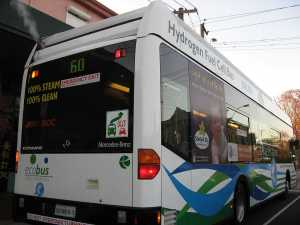 A Hydrogen Fuel Cell Bus