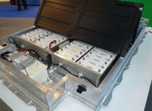 Lithium-Ion Battery Pack in a BMW i3