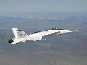 NASA F/A-18A Full Scale Advanced Systems Testbed