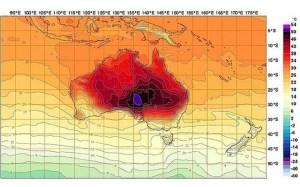 Australian Heat Map
