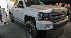 VIA X-Truck - A Heavily-Modified Chevy Silverado-Turned-eREV
