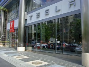 Tesla Motors Store in Washington, DC