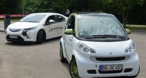 Opel Ampera and Smart EV - Fuel-Efficient Vehicles in Europe