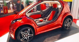 "IMA Colibri ""Hummingbird"" Revealed at the Geneva Motor Show - a Single Seater Electric Vehicle"