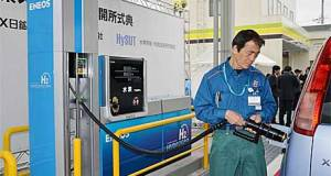 Japan's First [of 100] Hydrogen Fuel Station Went Live Last Month