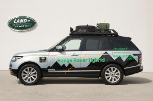 Range Rover Hybrid On Expedition Near You [if you live along the Silk Trail]