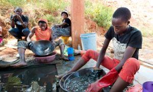 Gold mining in Geita, Tanzania