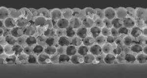 Stanford University's Ceramic-Nanolayer-Coated Tungsten Emitter after an Hour at 2,550°F