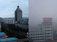 Beijing on Both Low- and High-Air-Pollution Days