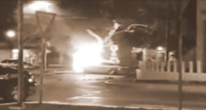 Tesla Model S Fire in Mexico