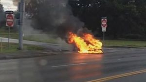 Tesla Model S on Fire Causes Overreactions Nationwide